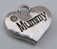 Mummy Earrings - Drop Charm Style
